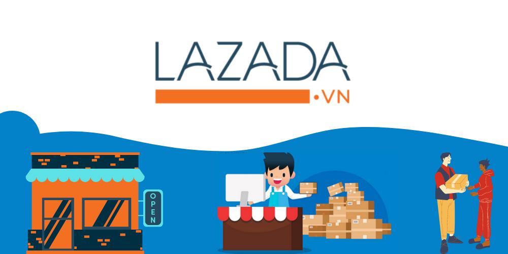 tạo tài khoản bán hàng trên lazada đơn giản