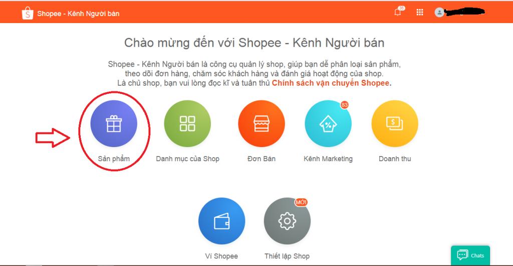 cách đăng sản phẩm trên Shopee